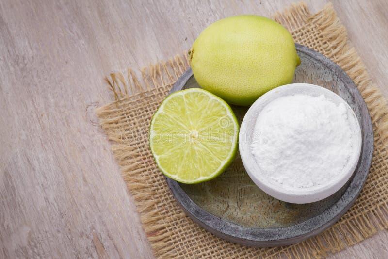 Bicarbonate de soude images stock