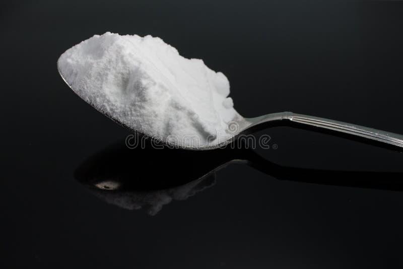 Bicarbonato di sodio immagini stock libere da diritti