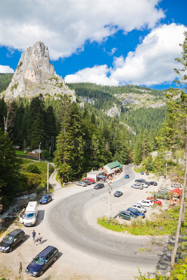 Download Bicaz Canyon editorial stock photo. Image of traffic - 15727493