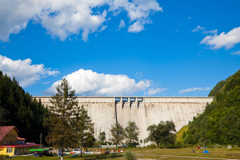 Bicaz Dam royalty free stock photography