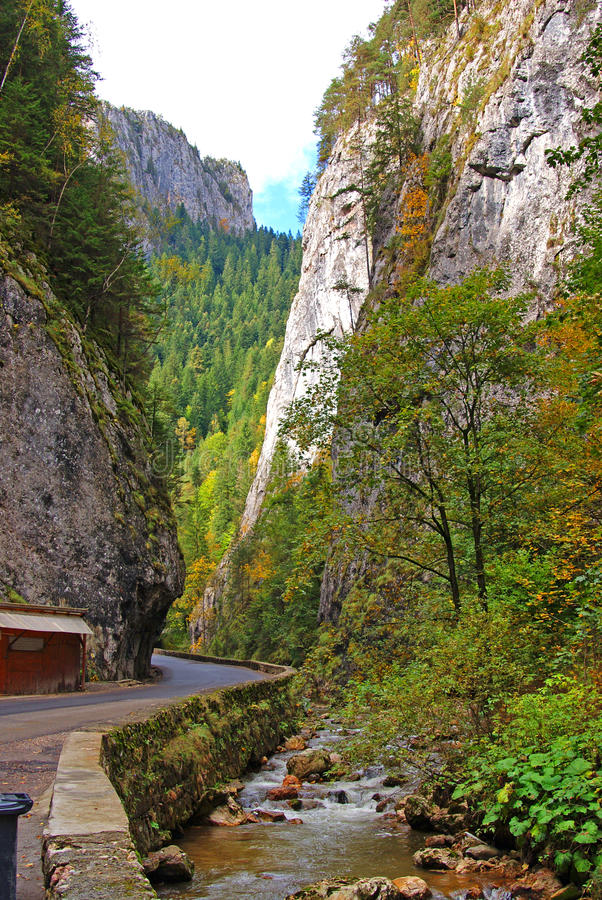 Free Bicaz Gorge And Little River Stock Photography - 16259902