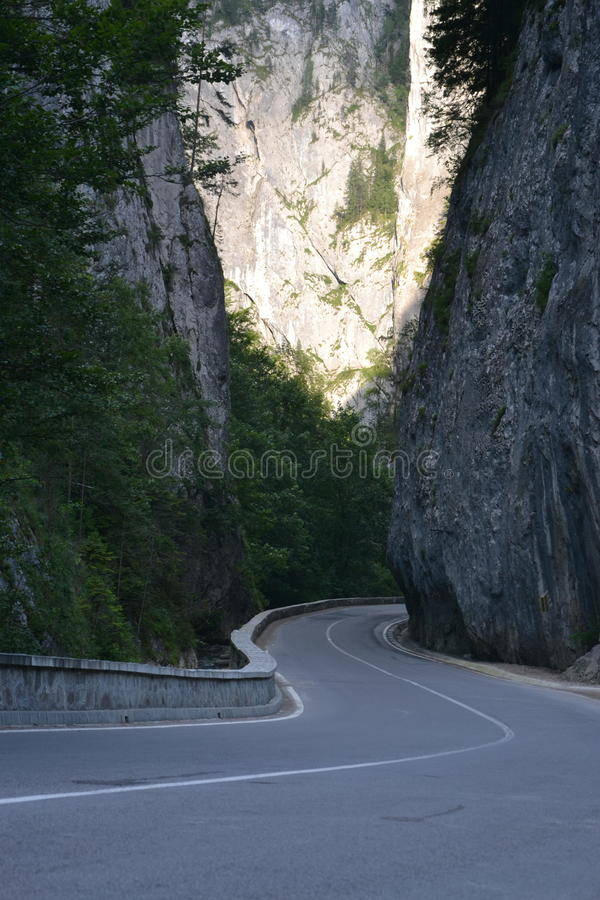 Bicaz gorges / cheile bicazului royalty free stock images