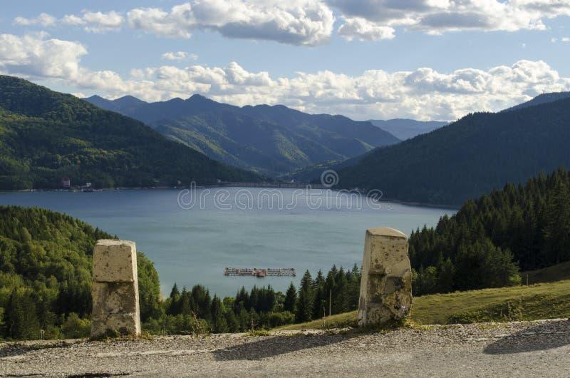Bicaz sjö royaltyfri foto