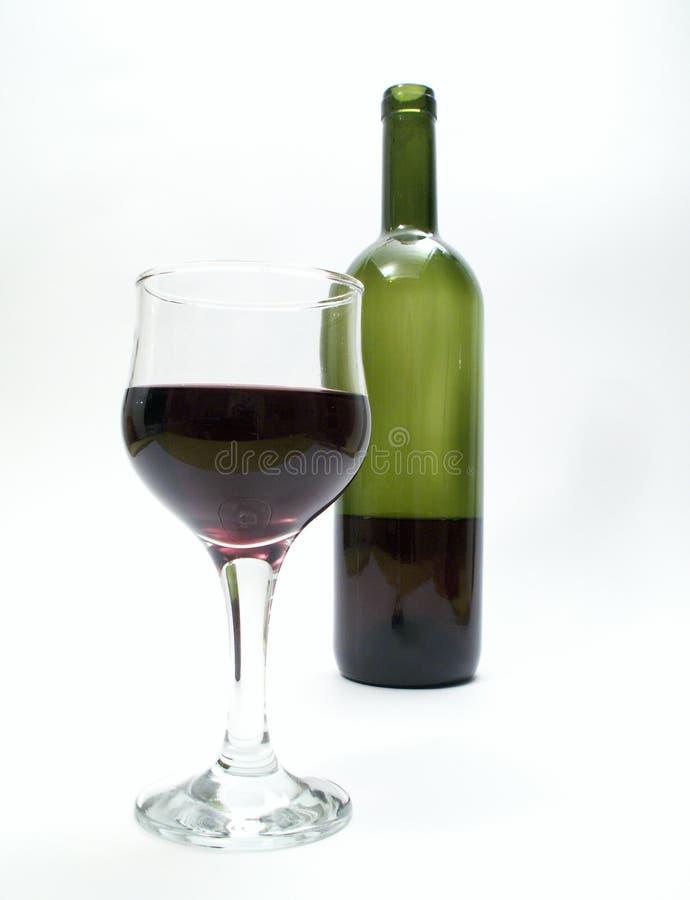 Download Bicchiere Di Vino E Bottiglia Immagine Stock - Immagine di frutta, bevanda: 3882815