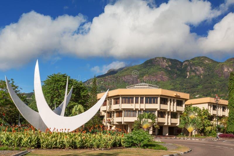Bicentennial zabytek, Wiktoria Seychelles, Seychelles obrazy royalty free
