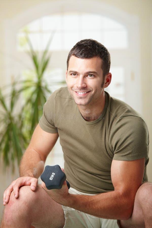 Free Biceps Exercise Stock Photos - 12484383