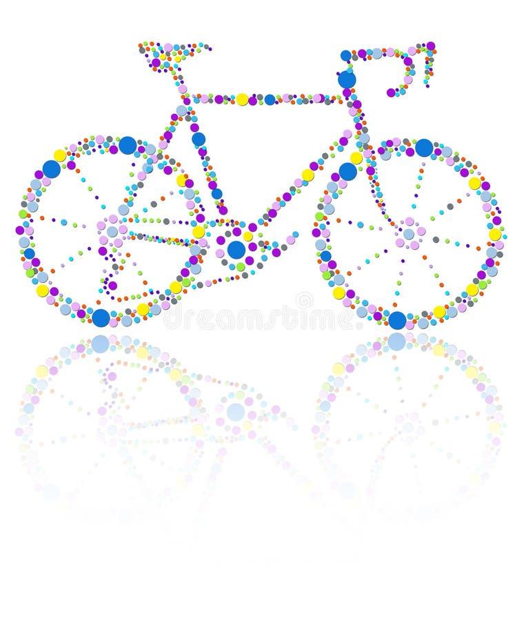 Bici illustrazione di stock
