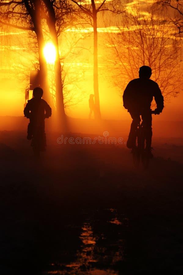 Download Bici fotografia stock. Immagine di nave, sera, nebbia - 7324500