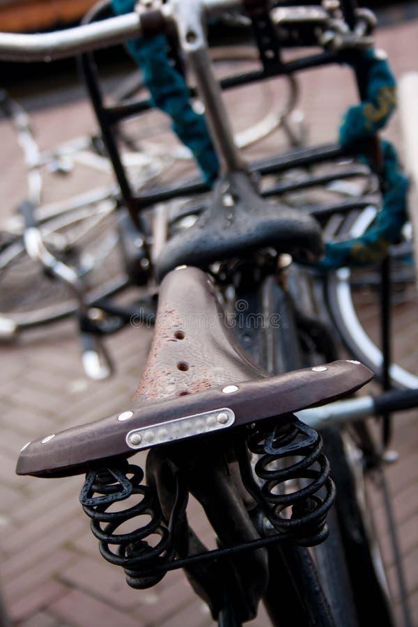 Bici a Amsterdam immagini stock