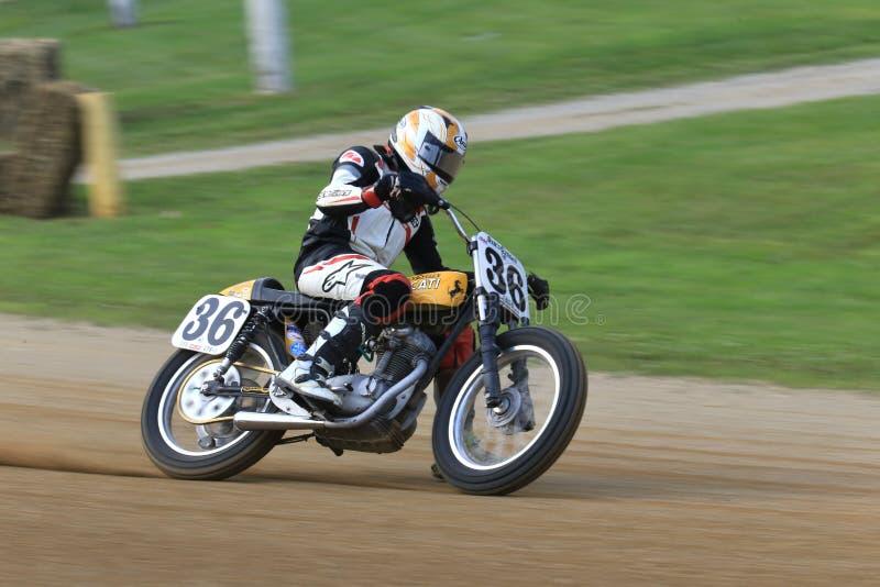 Bici de Ducati del vintage fotos de archivo libres de regalías
