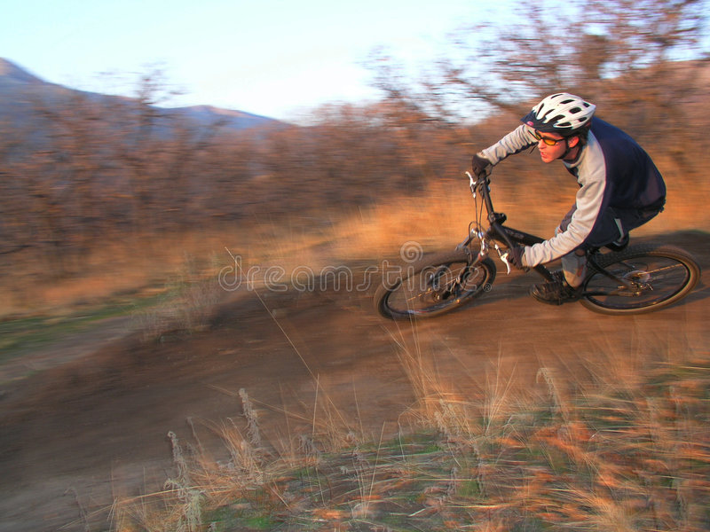 bici de la montaña fotos de archivo libres de regalías