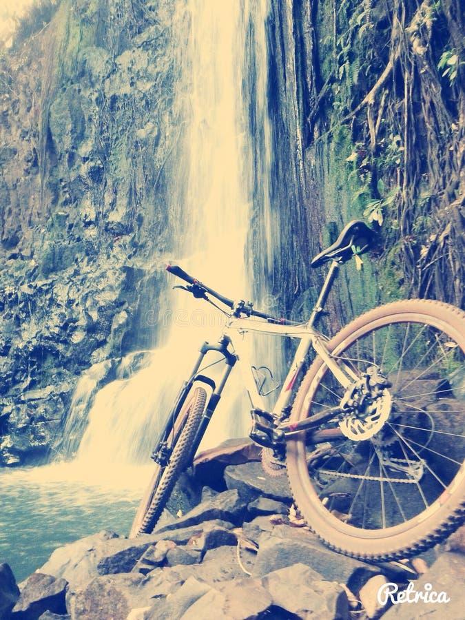 Bici de la sierra foto de archivo