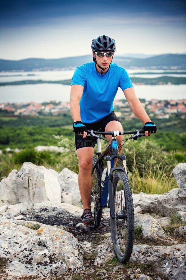 Bici de montaña fotografía de archivo