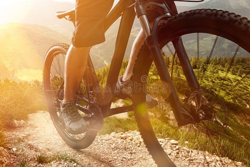 Bici de montaña imagenes de archivo