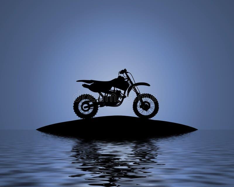 Bici del agua ilustración del vector