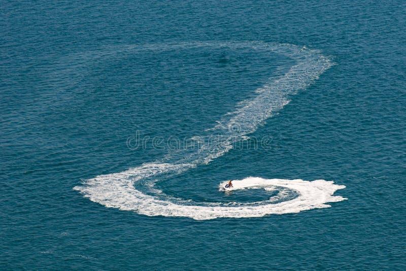 Bici del agua de Seadoo imagen de archivo