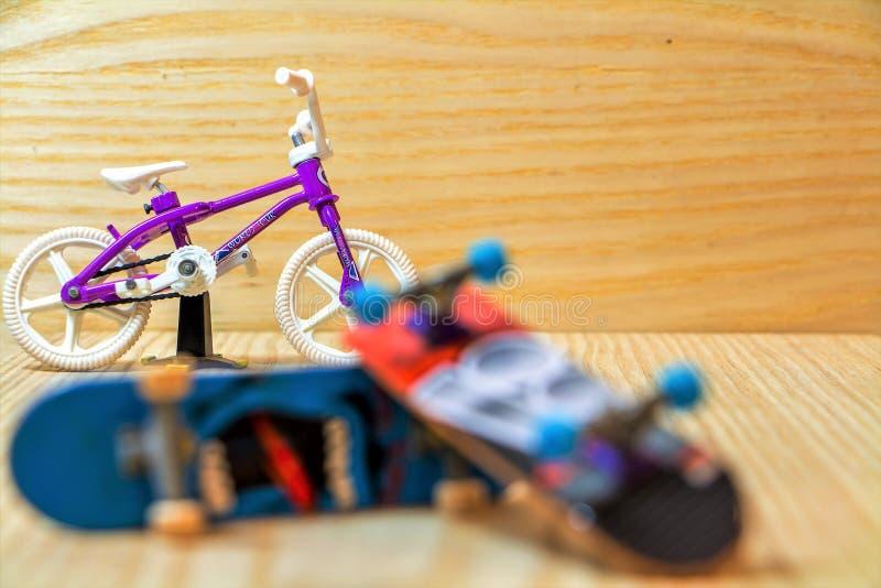 Bici del finger fotografía de archivo libre de regalías