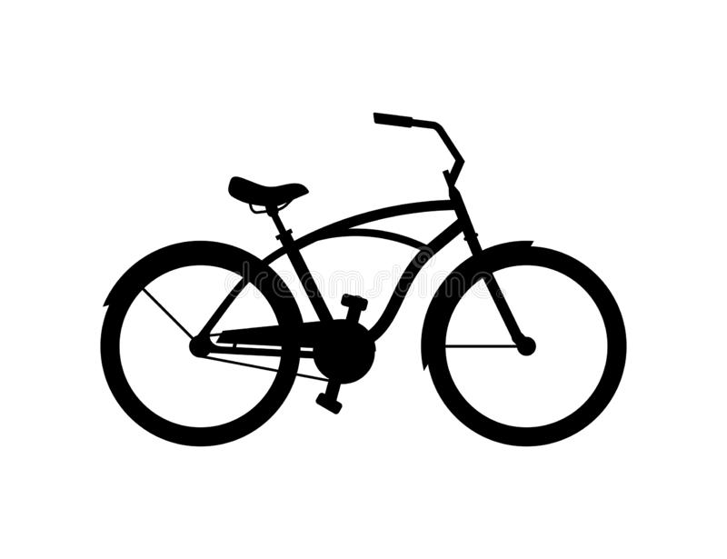 Bici dell'incrociatore illustrazione vettoriale
