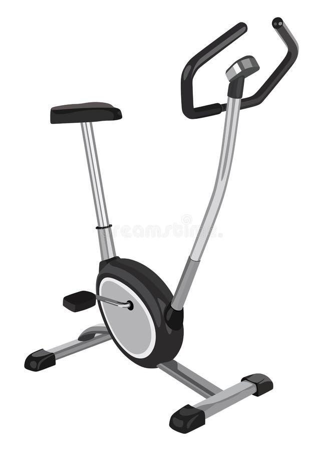Bici di esercizio domestica illustrazione vettoriale