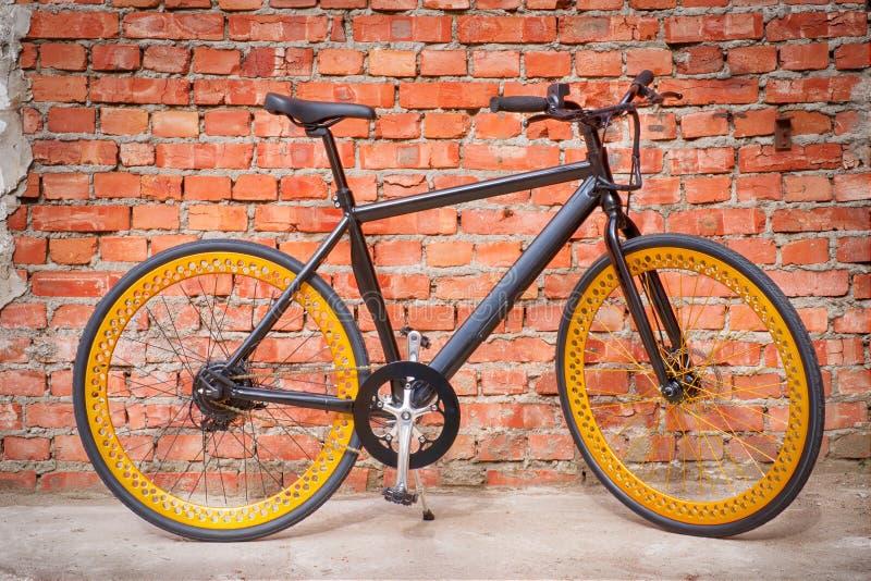 Bici elettrica nera fotografia stock libera da diritti