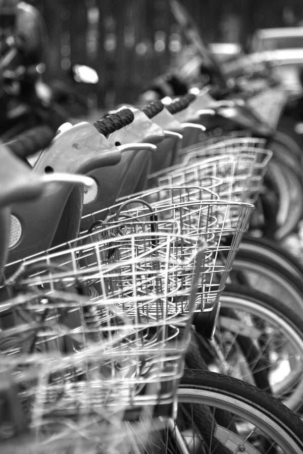 Bici a Parigi immagine stock libera da diritti