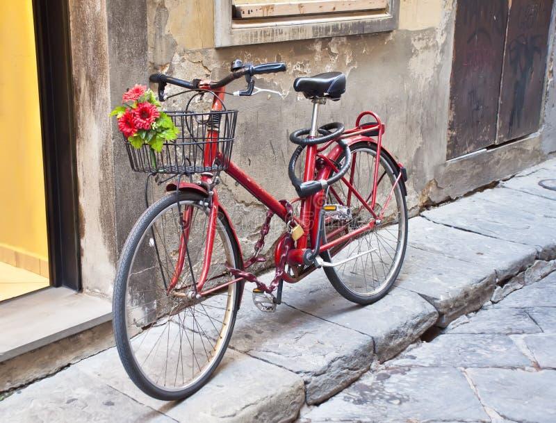 Bici retra foto de archivo libre de regalías