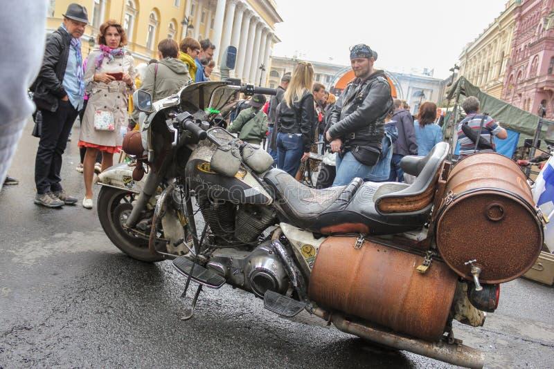 Bici retra Harley Davidson fotografía de archivo