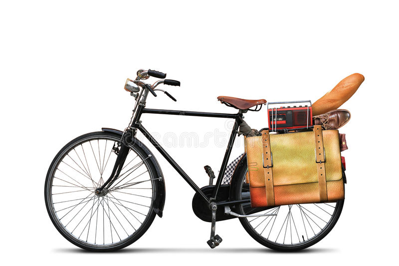 Bici urbana clásica imagen de archivo