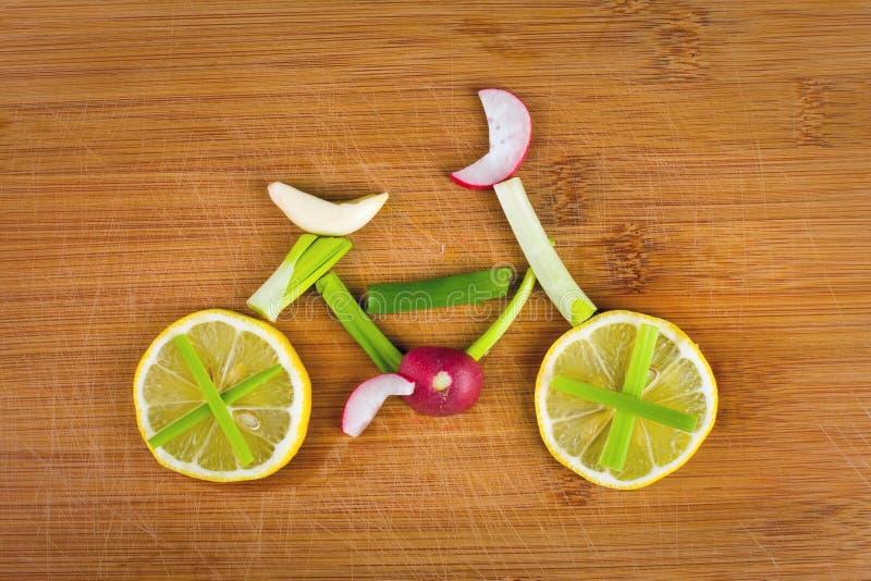 Bici vegetal foto de archivo libre de regalías