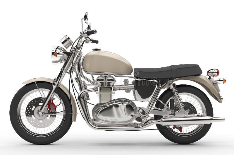Bici vieja fresca stock de ilustración