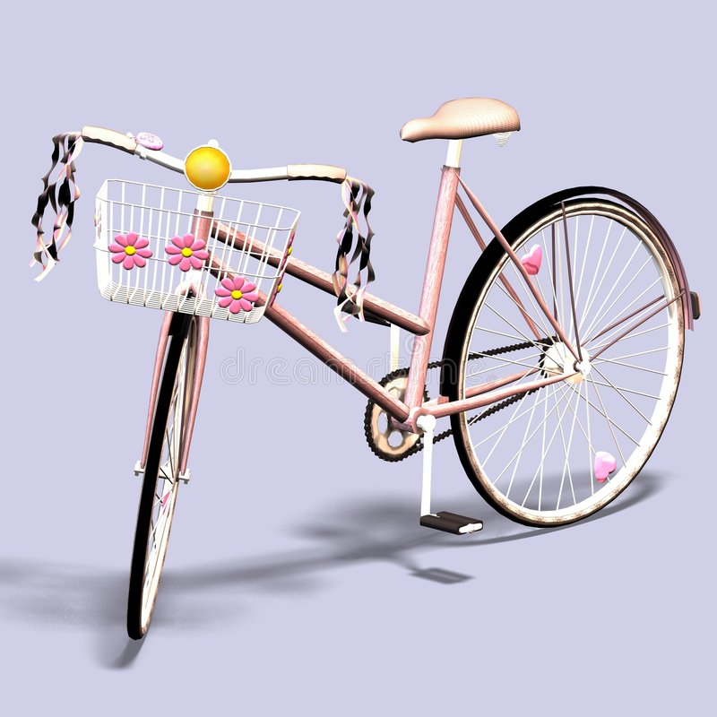 Bicicleta #5 ilustración del vector