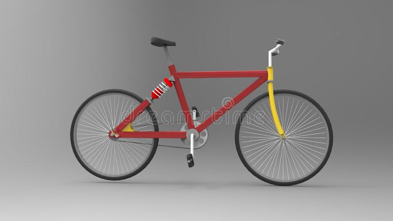 Bicicleta libre illustration
