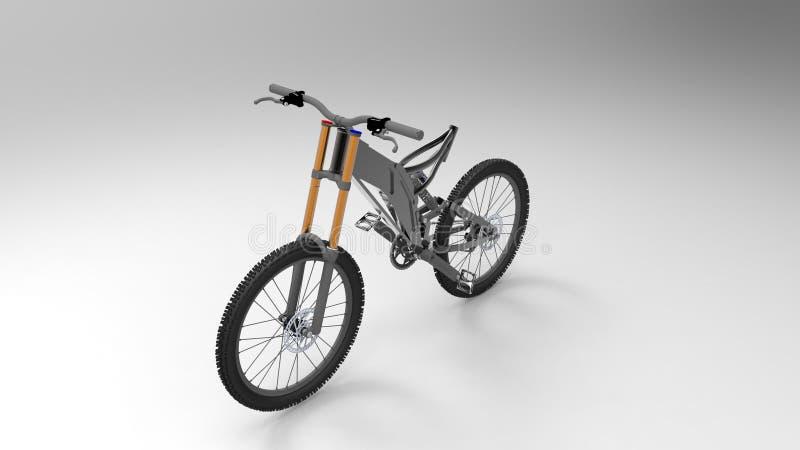Bicicleta ilustración del vector