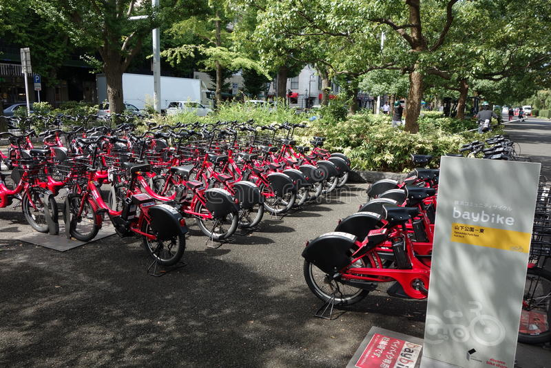 Bicicleta alugado foto de stock royalty free