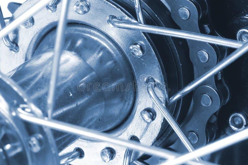 Bicicleta - close up imagem de stock royalty free