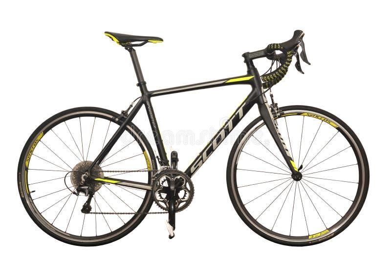 Bicicleta da estrada foto de stock