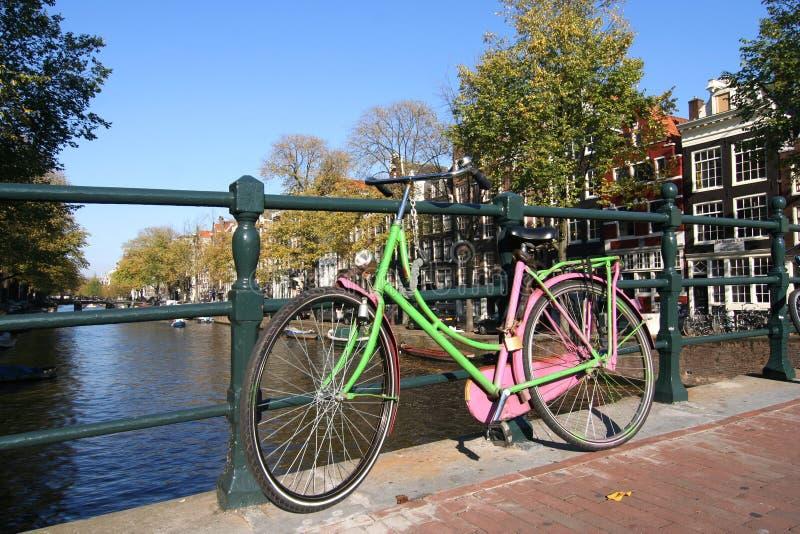 Bicicleta de Amsterdão foto de stock