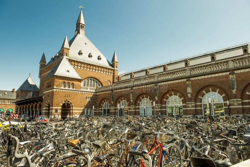 Bicicleta De Copenhague Foto de archivo editorial