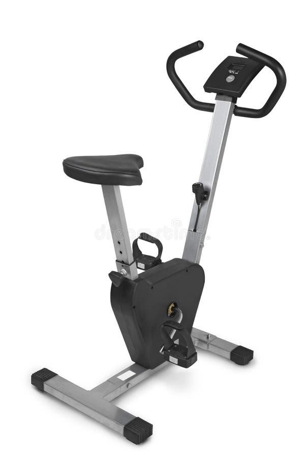 Bicicleta de exercício fotografia de stock royalty free