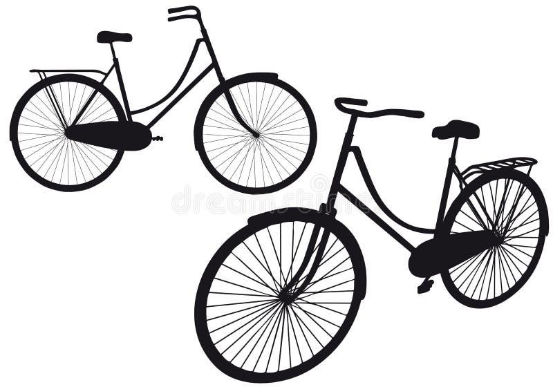 Bicicleta de la vendimia,   libre illustration