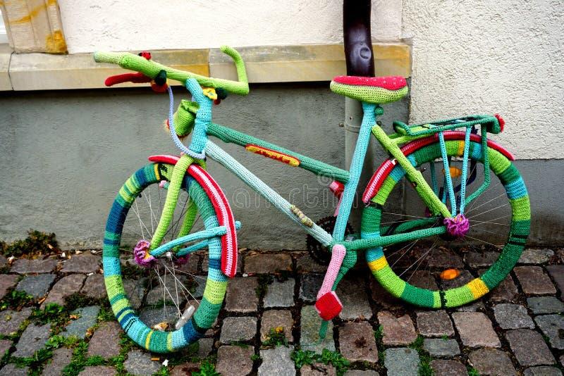 Bicicleta DE Lana royalty-vrije stock fotografie