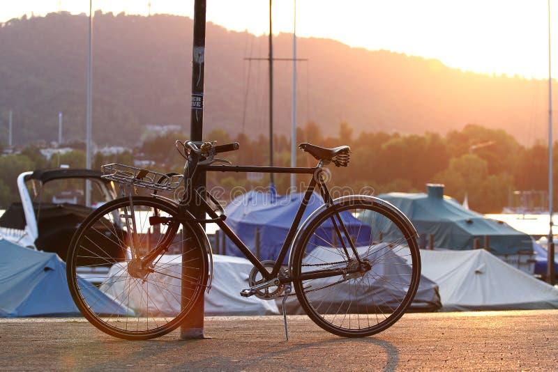 Bicicleta de Zurique foto de stock royalty free