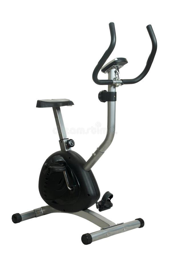 Bicicleta del ejercicio fotografía de archivo