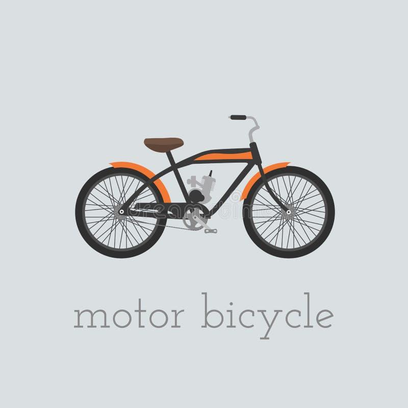 Bicicleta del motor libre illustration