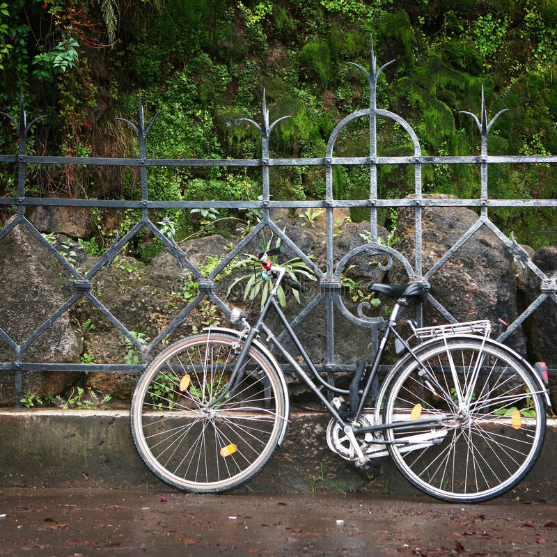 Bicicleta del vintage foto de archivo