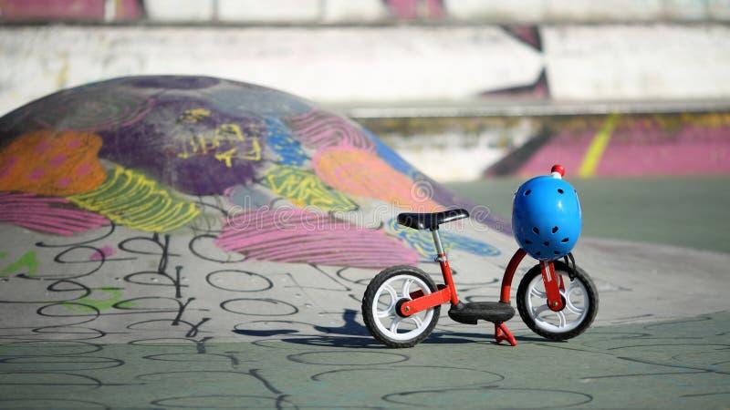 Bicicleta do equilíbrio foto de stock royalty free