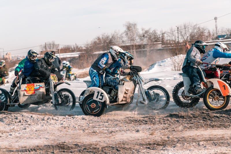 A bicicleta do motocross da roda traseira imagem de stock royalty free