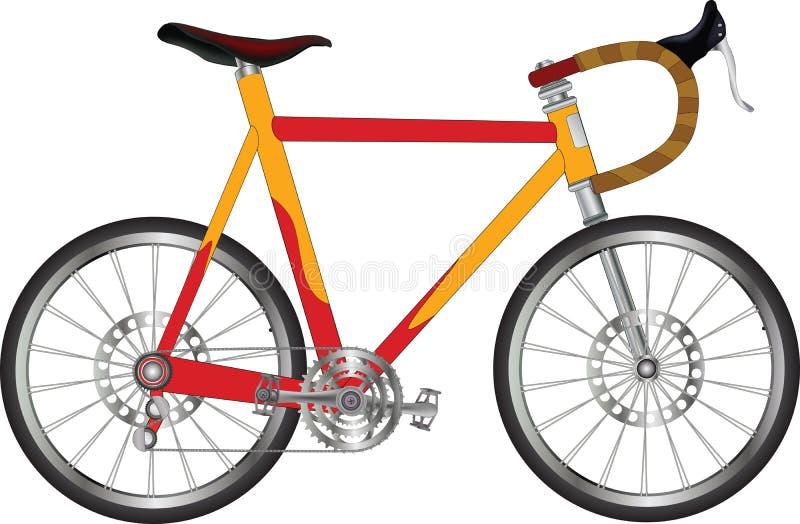 Bicicleta dos esportes ilustração stock