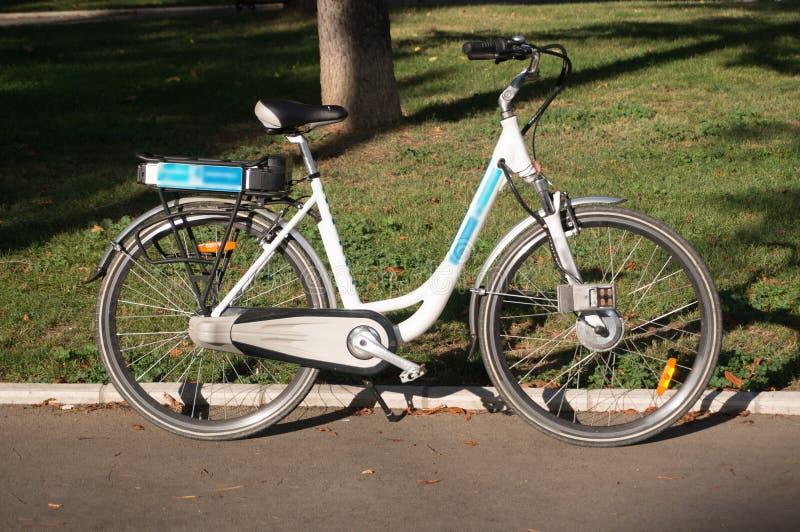 Bicicleta elétrica fotografia de stock royalty free