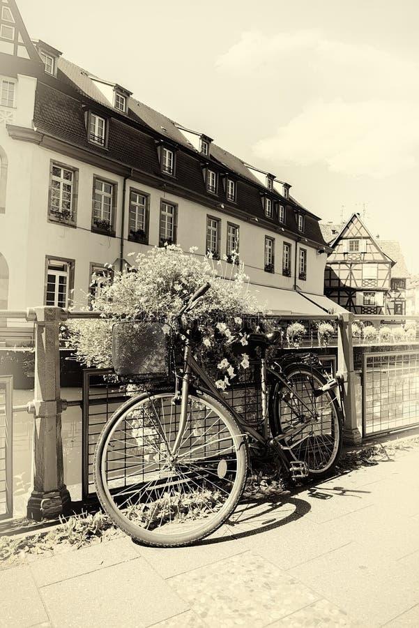 Bicicleta em Strasbourg imagem de stock